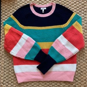 Multi Stripe Joie Sweater